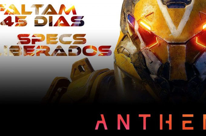 FINALMENTE!!! – ESPECIFICAÇÕES DO ANTHEM PARA PC LIBERADAS