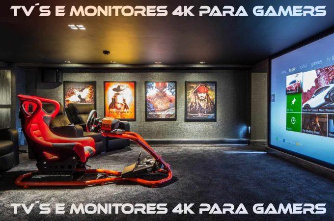 GUIA TECH 001 – Televisores e Monitores 4K para Gamers!!!